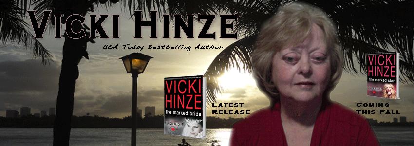 Vicki Hinze, USA Today Bestselling Author, Romantic Suspense, Romantic Thriller, Inspirational author