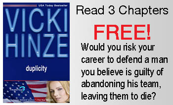 Duplicity, Vicki Hinze, Reunited Hearts Series, Free Preview