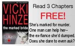 Vicki Hinze, The Marked Bride, Free Preview