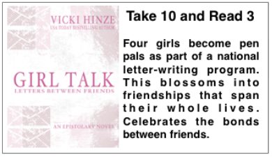 Girl Talk Preview, Vicki Hinze