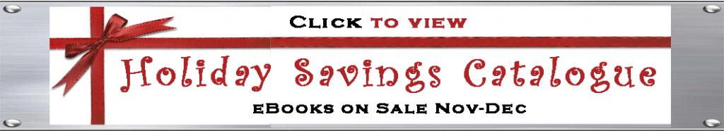 Vicki Hinze, Holiday Savings Catalogue, Books on Sale