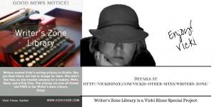 Vicki Hinze, Writer's Zone Library