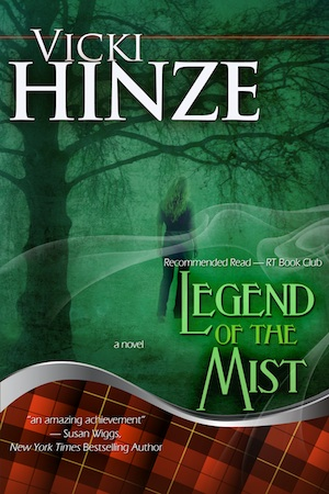 Legend of the Mist, paranormal romantic suspense, paranormal romantic thriller, vicki hinze