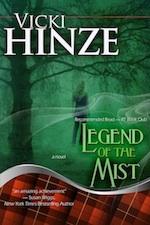 Legend of the Mist, Vicki Hinze, Romantic Suspense, Romantic Thriller, Time-Travel