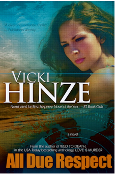 All Due Respect, Military Romantic Thriller, military romantic suspense, vicki hinze