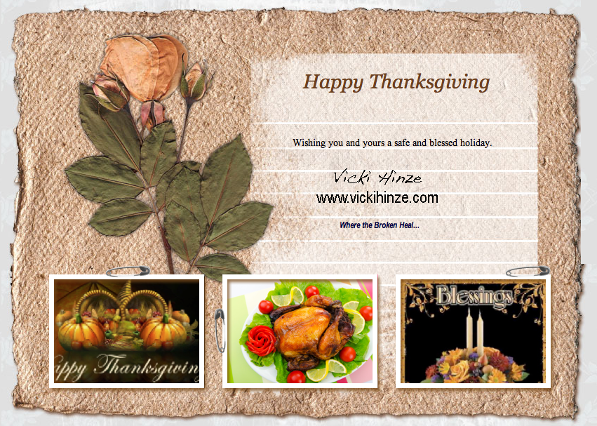 Wishing You and Yours the Happiest of Thanksgivings