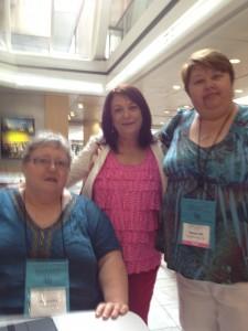 Ali Cunliff, Kathy Carmichael and Teresa Hill