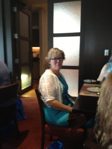 Luncheon with Eve Gaddy