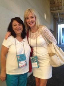 Kathy and Pamela