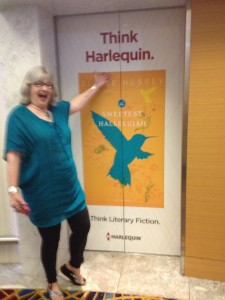 Peggy Webb at her Elevator Wrap for her New Release!