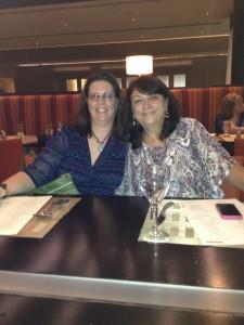 Regan Black and Kathy Carmichael