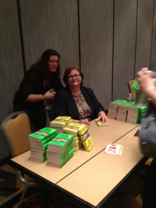 Regan Black and Debra Webb at Deb's Signing