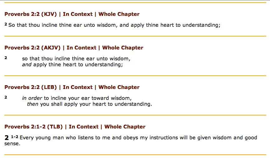 Proverbs 2-2-3