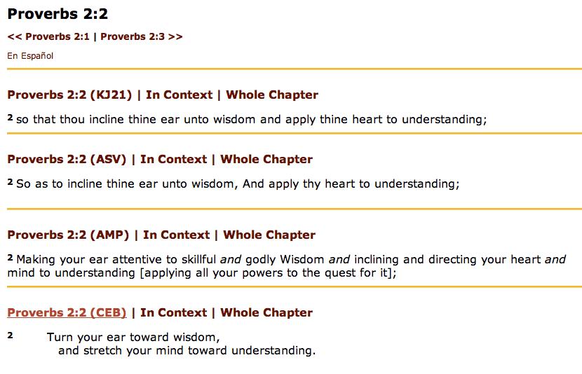 Proverbs 2-2-4