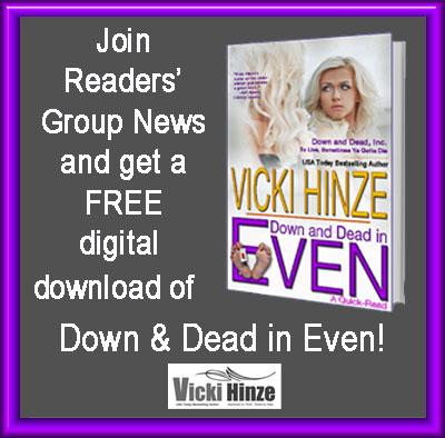 Vicki Hinze's Readers Group News, mcdmimi