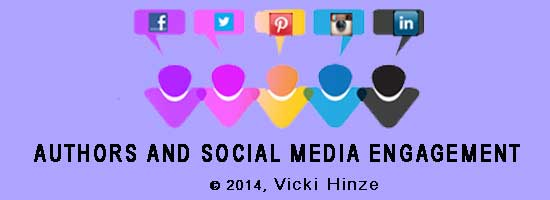 Authors and Social Media Engagement