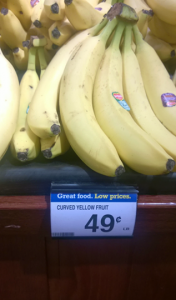 politically incorrect, curved yellow fruit