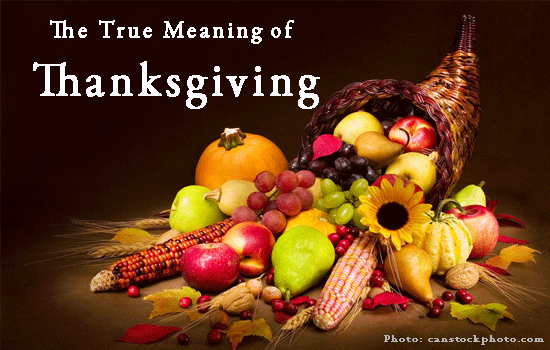 vicki hinze, Thanksgiving, The Meaning of Thanksgiving