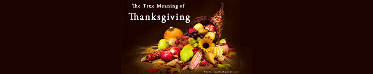 Vicki Hinze, The True Meaning of Thanksgiving