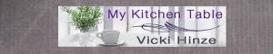 vicki hinze, my kitchen table blog