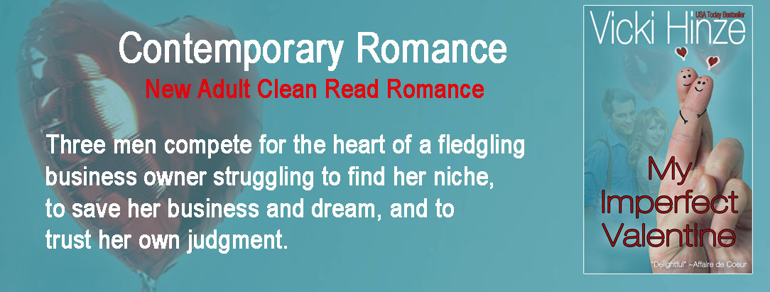 contemporary romance, new adult romance, vicki hinze