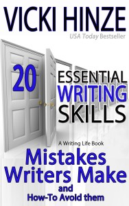 Vicki Hinze, Essential Writing Skills, Mistakes Writers Make, creative writing guides