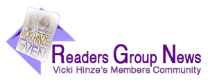 Vicki Hinze's Readers Group News