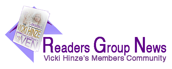 Vicki Hinze's Readers Group News