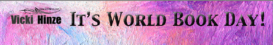 Vicki Hinze, vickihinze.com, World Book Day