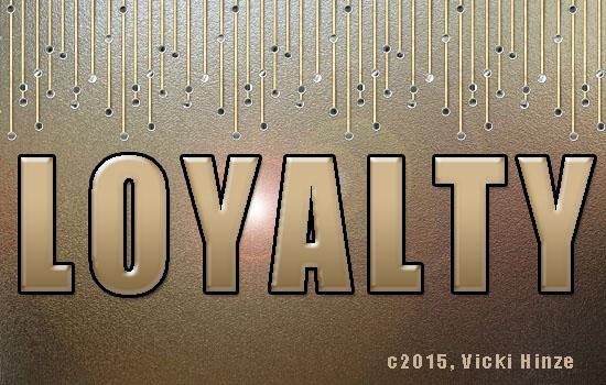 The Lowdown on Loyalty, Vicki HInze