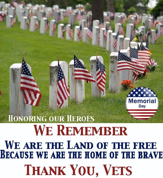Vicki Hinze, Memorial Day, Honoring our Heroes