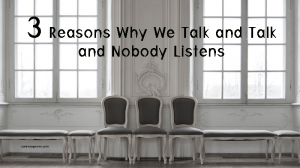 Vicki Hinze, talk and listen