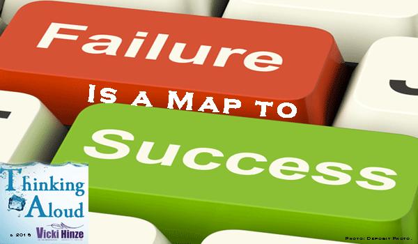 vicki hinze, failure, success, thinking aloud