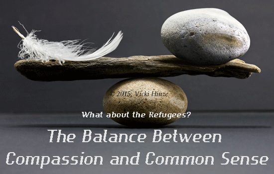 refugees, common sense, compassion, choices, assessments, solutions to challenges
