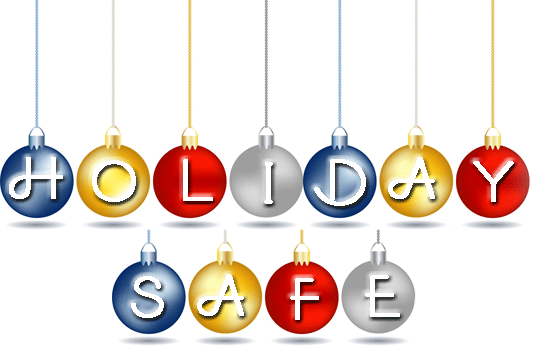 Vicki Hinze, Holiday Safe, Holiday Safety Tips