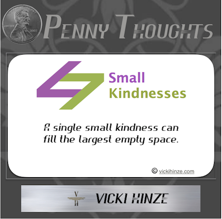 Small Kindnesses, Vicki Hinze