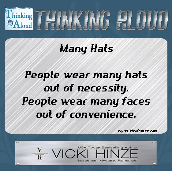 Thinking Aloud, Vicki Hinze