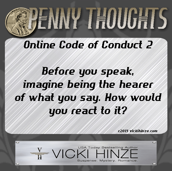 Penny Thoughts, Vicki Hinze