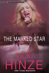 The Marked Star, Shadow Watchers, Vicki Hinze, Romantic Suspense, Romantic Thriller