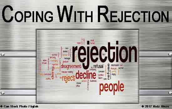 Vicki Hinze, Bestselling Author, rejection