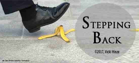 Stepping Back:  The Upside of an Injury