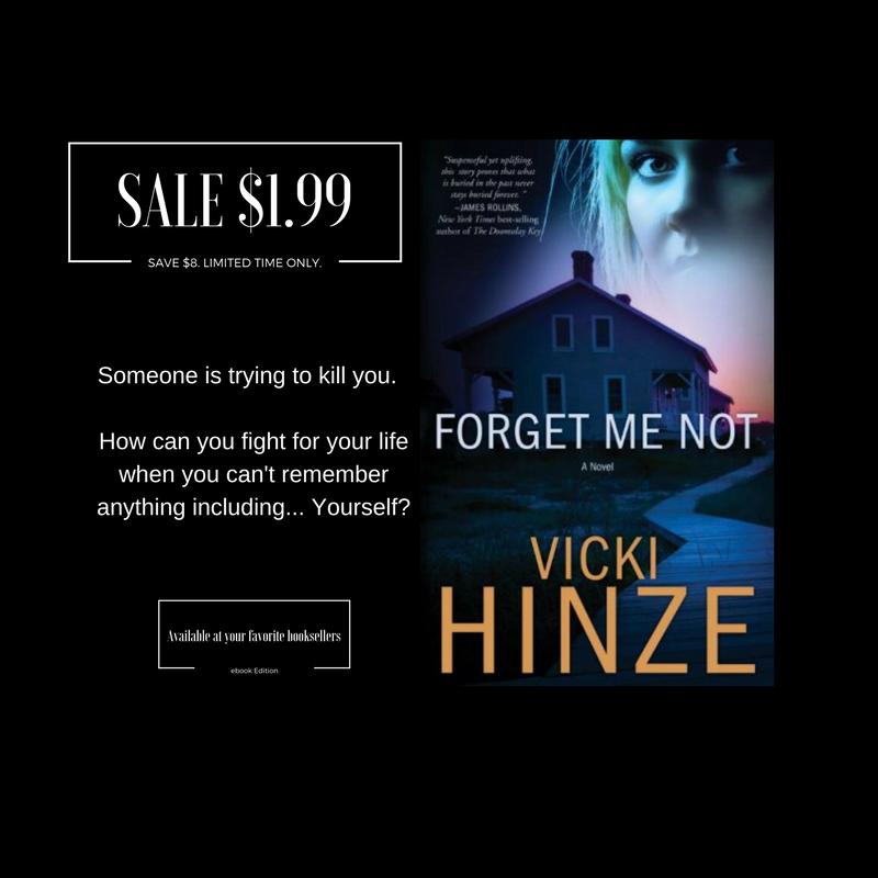 Forget Me Not, Vicki Hinze, Multnomah, Random House Books