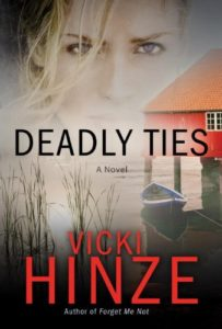 vicki hinze, human trafficking novel, deadly ties