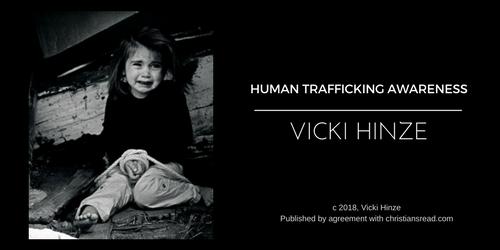 human trafficking awareness, vicki hinze