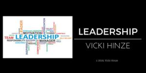 Vicki Hinze, Leadership