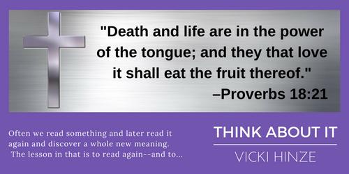 Bible Verse, Christians Read, Vicki Hinze, Think About It,