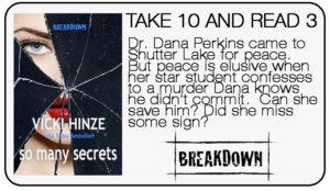 Vicki Hinze, Take 10 and Read 3, So Many Secrets