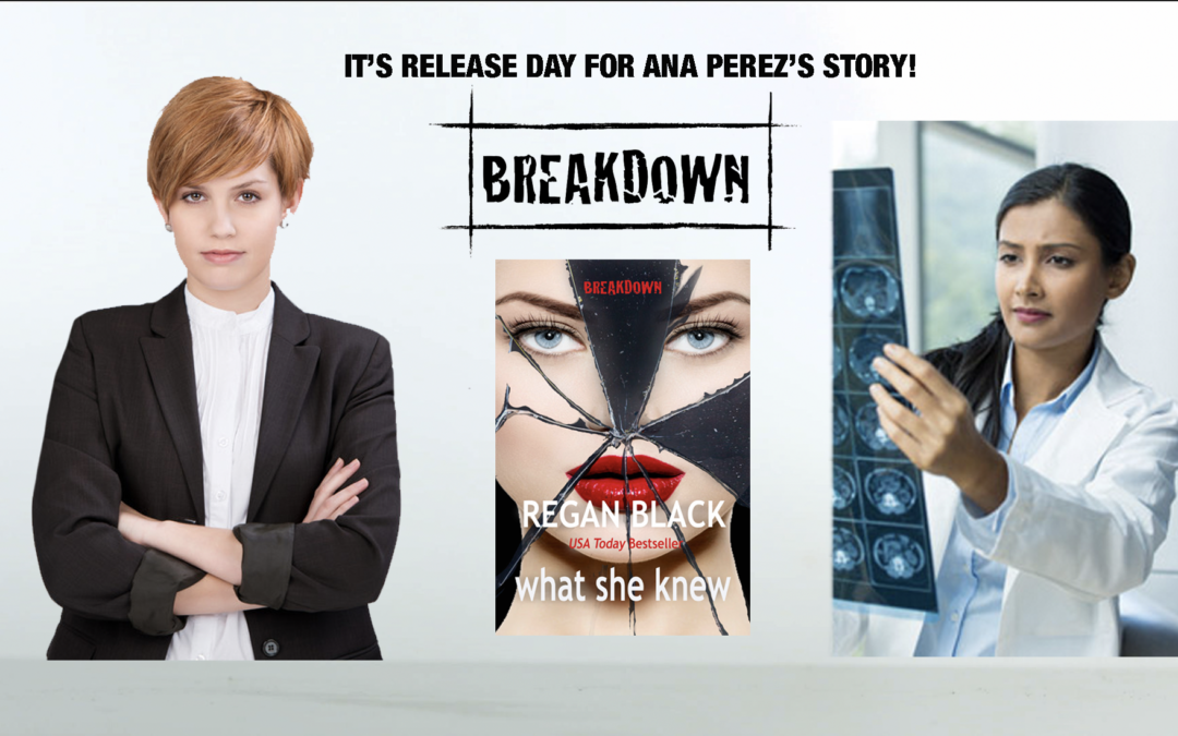 It's Thursday!  Say Hello to Ana (Luciana) Perez from WHAT SHE KNEW!