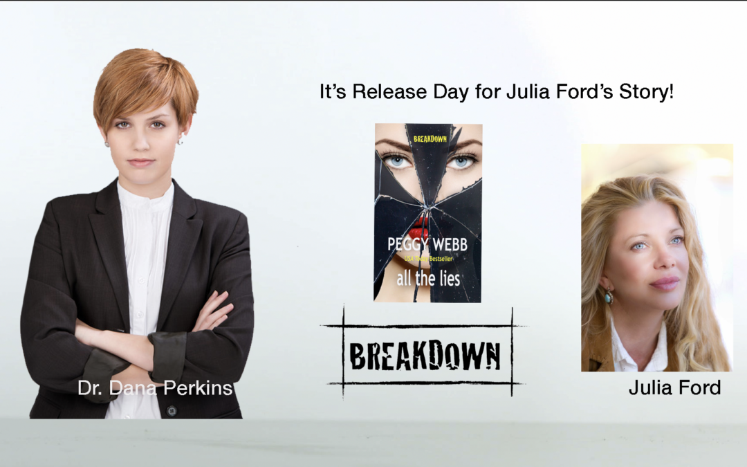 It's Release Day for ALL THE LIES–Meet Julia Ford!