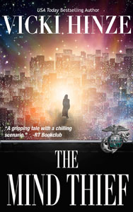 THE MIND THIEF, VICKI HINZE, ROMANTIC THRILLER